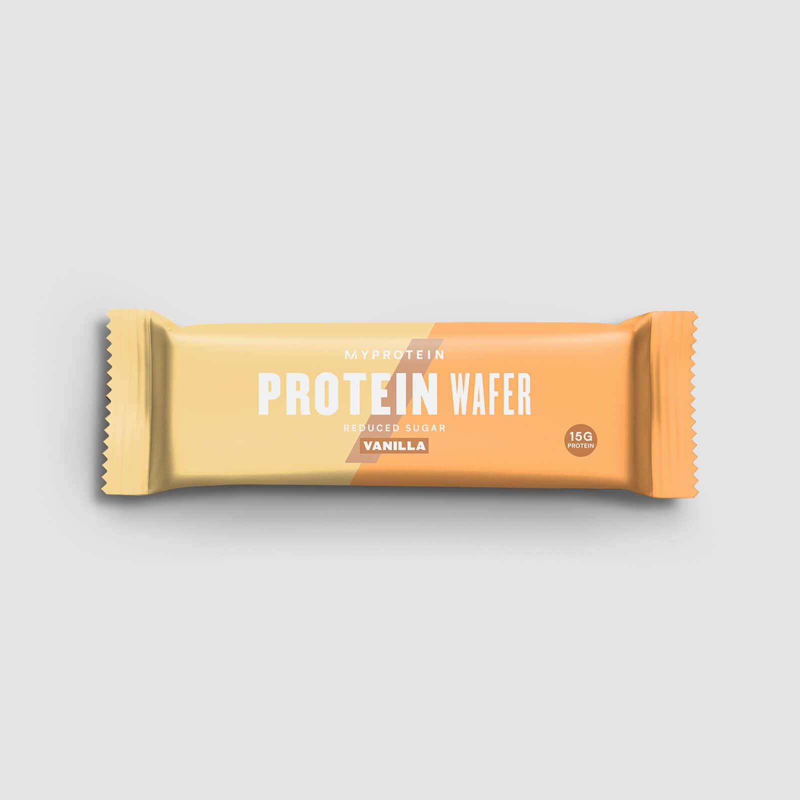 Gaufrette protéinée (échantillon) - Vanille