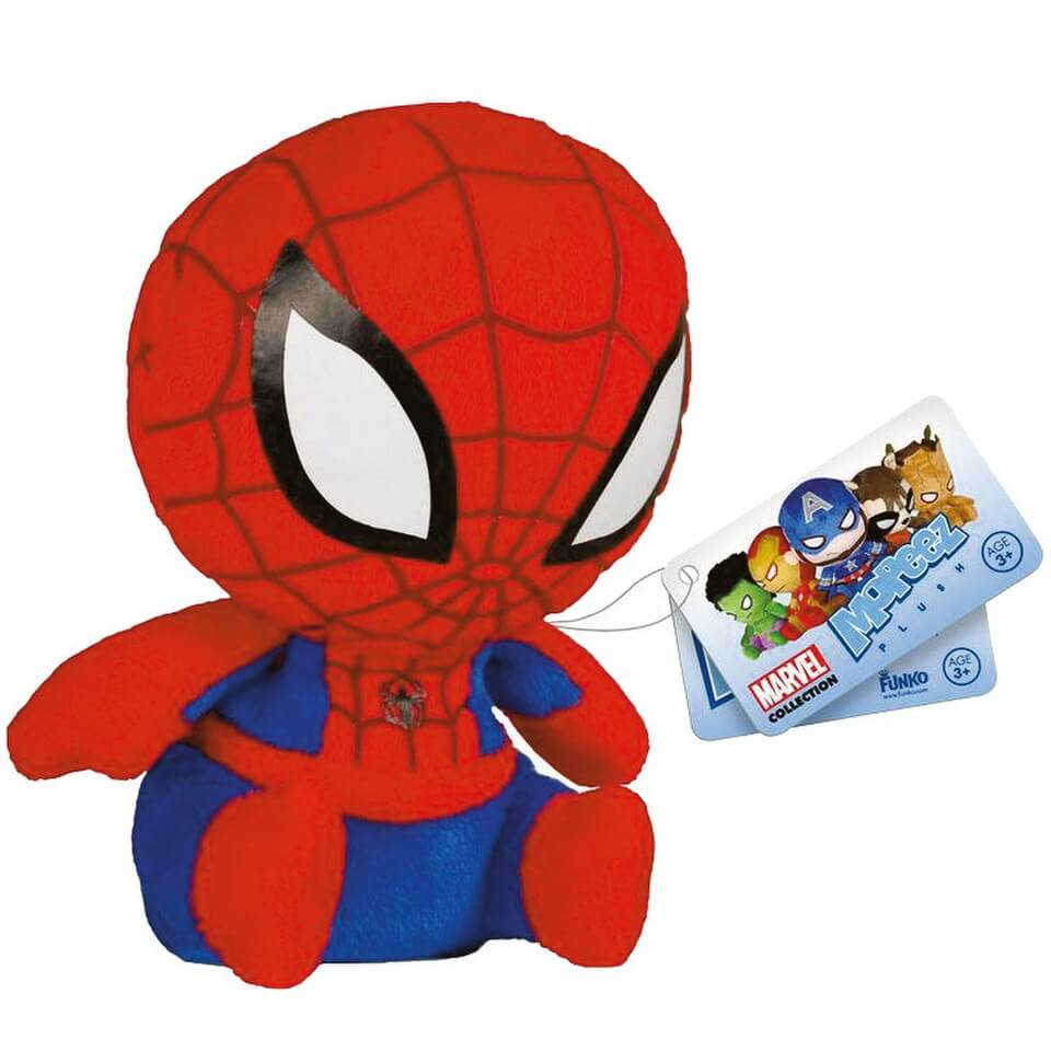 Mopeez Marvel Spider Man Plush Figure