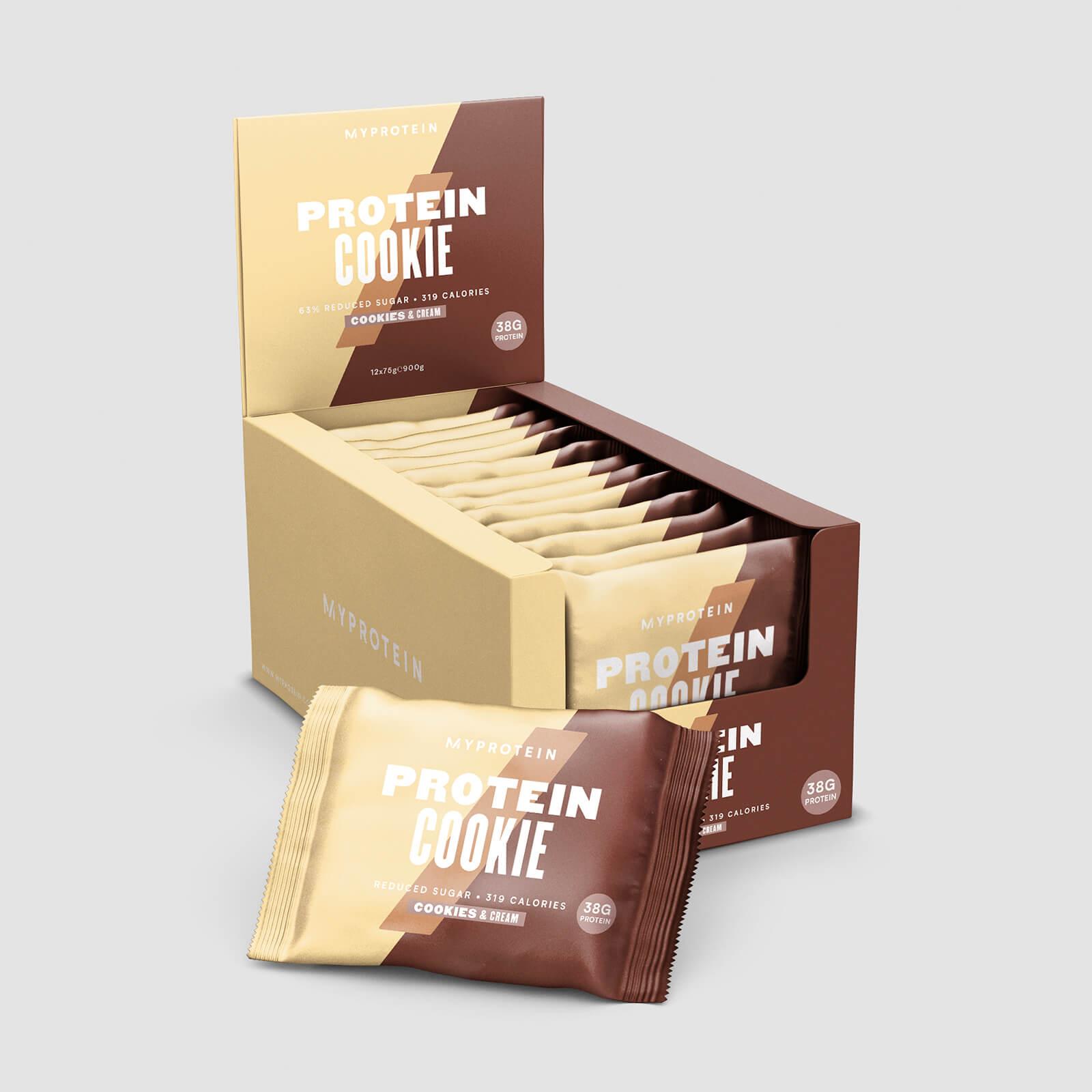 Cookie Protéiné - Cookies et Crême