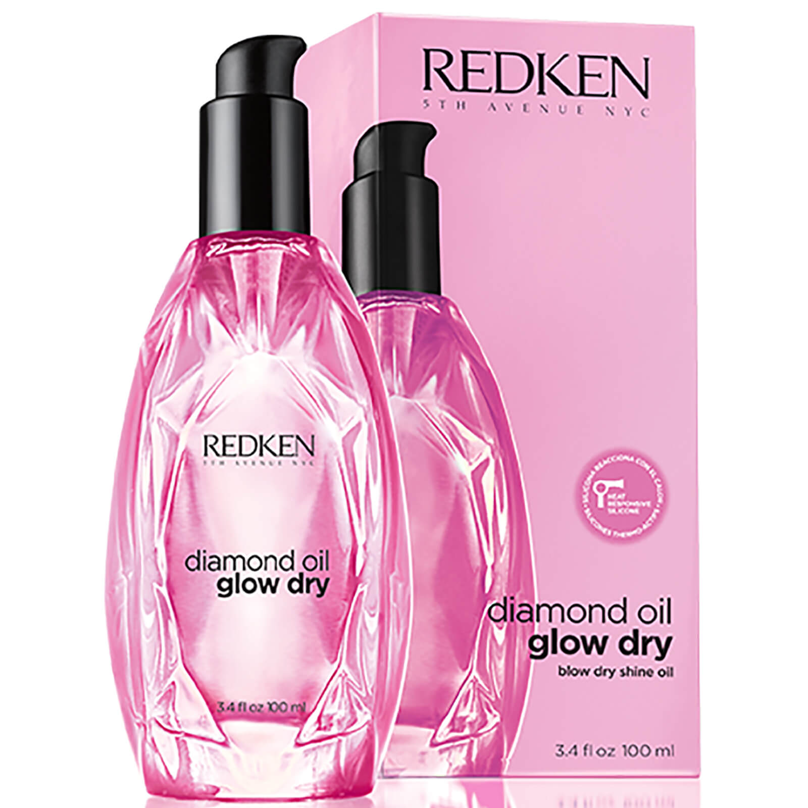 Redken Diamond Oil Glow Dry Style Olio illuminante (100 ml)