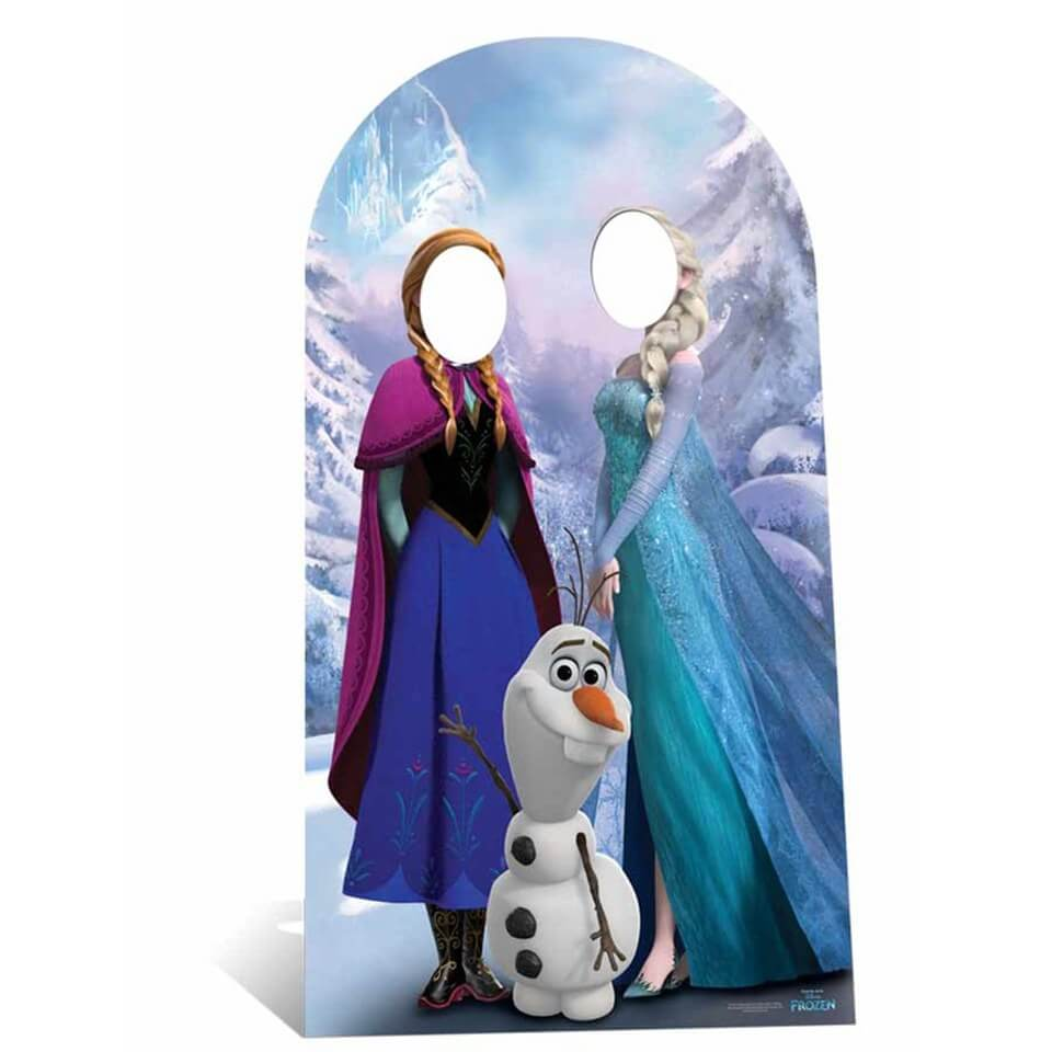 Image of Disney Frozen Stand In Cardboard Cut Out