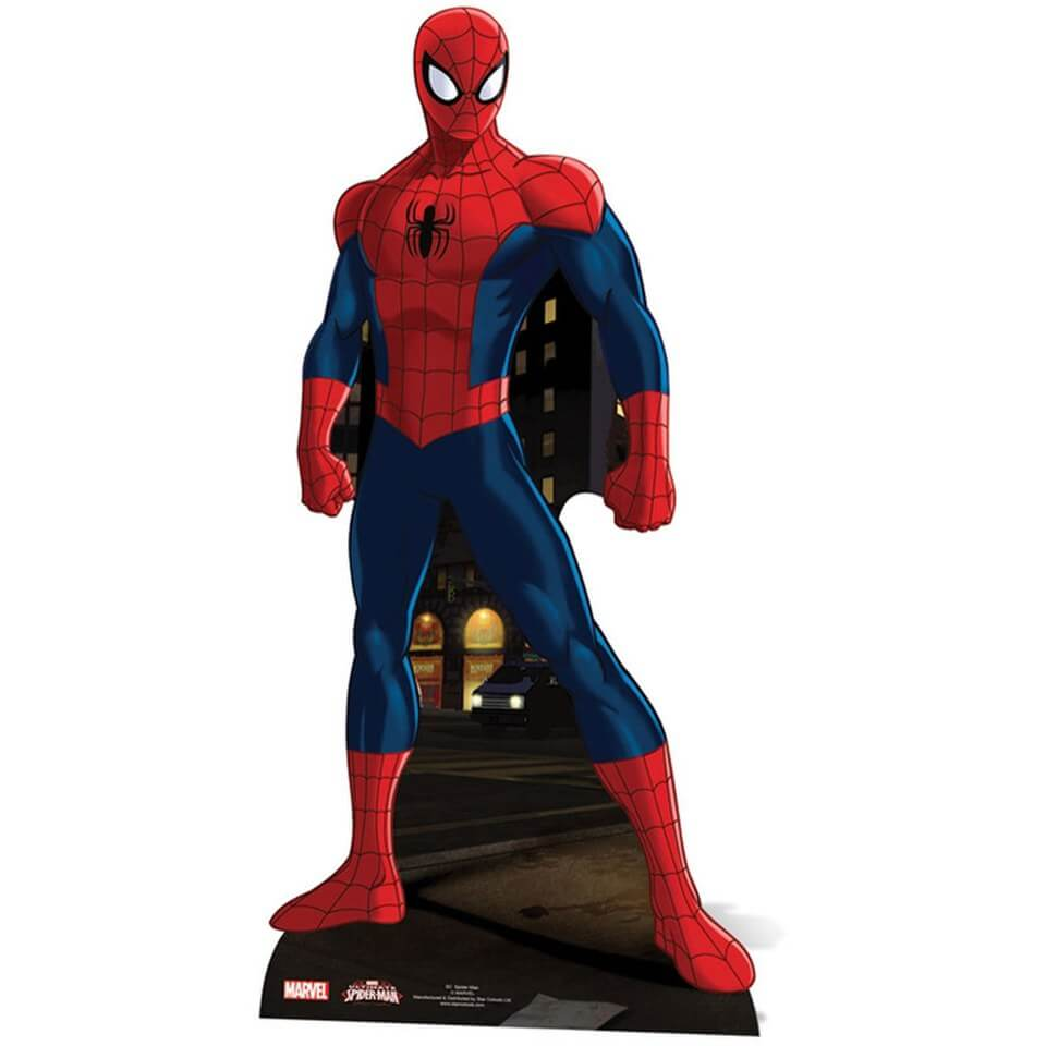 Image of Marvel Spider-Man Cut Out