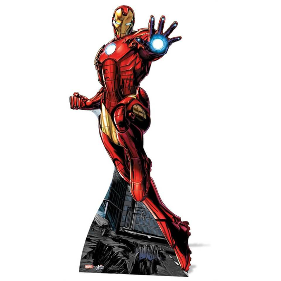 Image of Marvel The Avengers Iron Man Cut Out