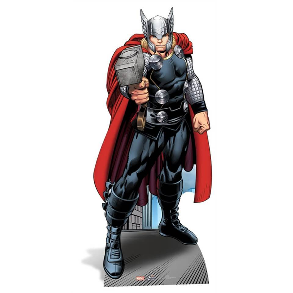 Image of Marvel The Avengers Thor Cut Out