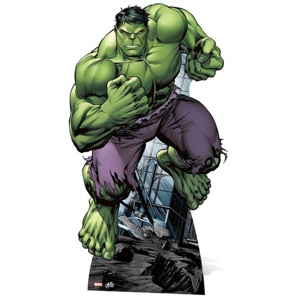 Image of Marvel The Avengers Hulk Cut Out