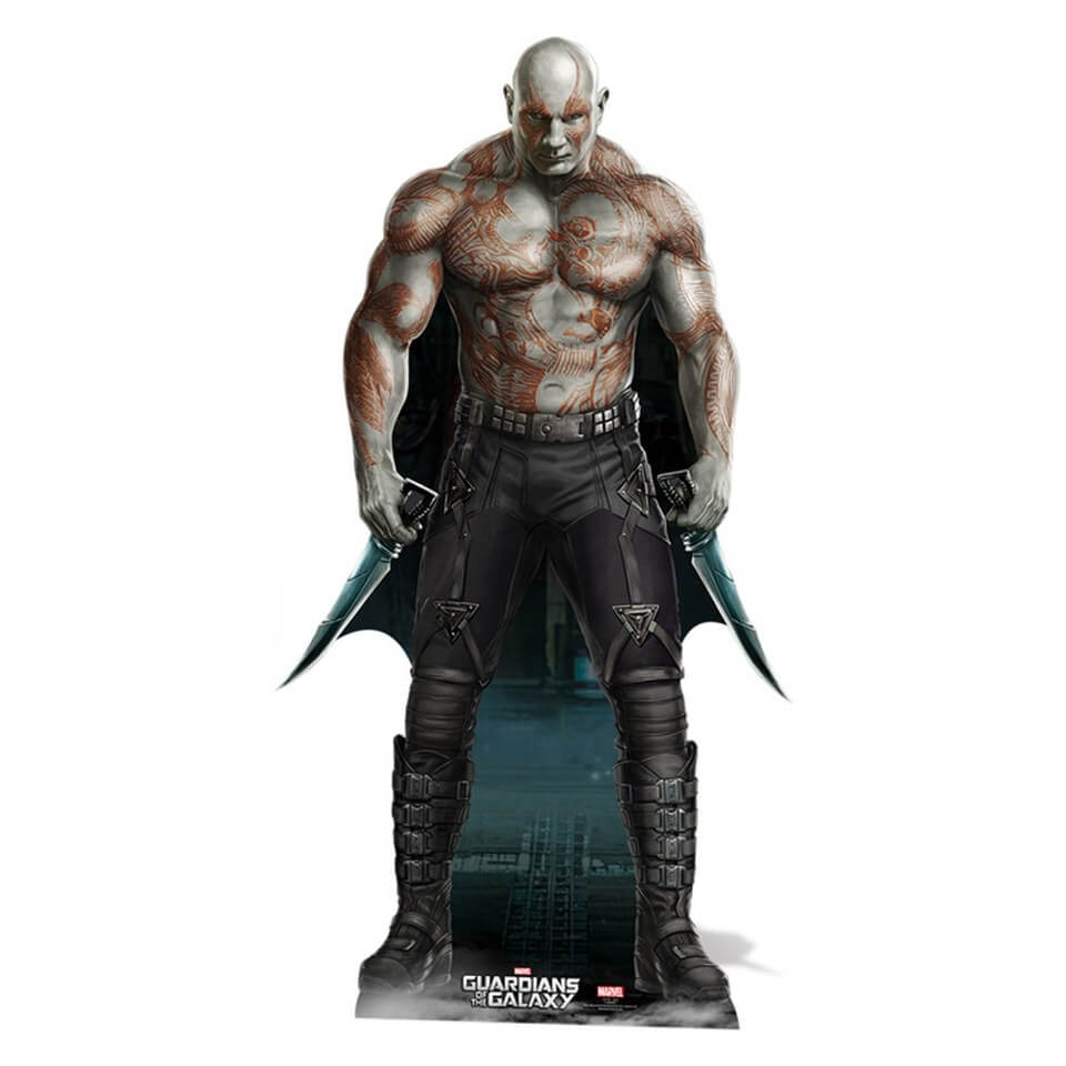 Image of Marvel Guardians of the Galaxy Drax Cut Out