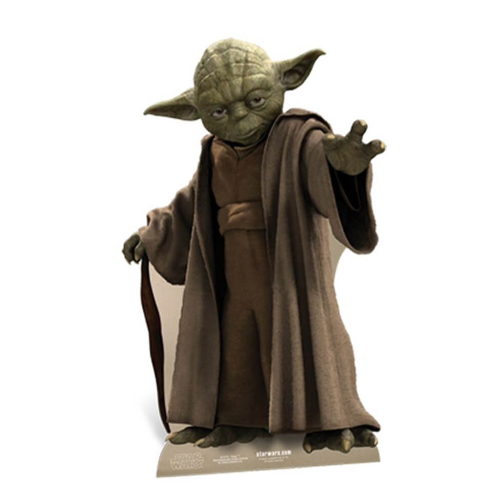 Image of Star Wars Yoda Cut Out
