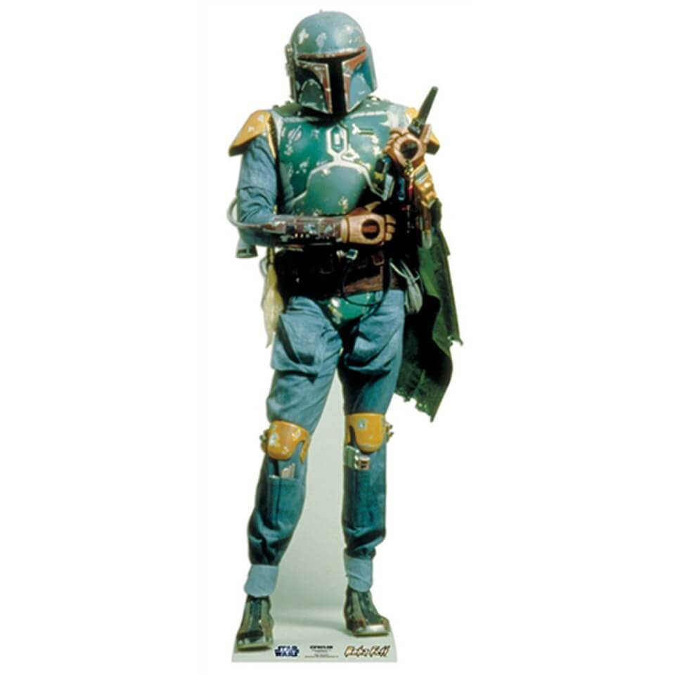 Image of Star Wars Boba Fett Cut Out