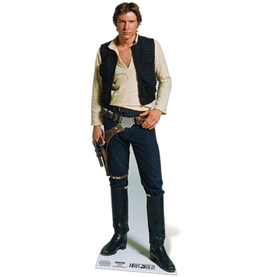 Image of Star Wars Han Solo Cut Out