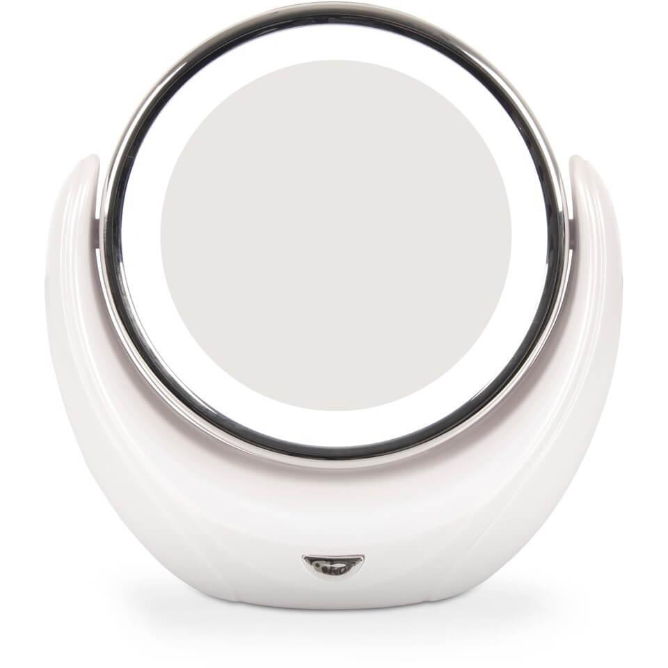 Увеличивающее косметическое зеркало с подсветкой Rio  - Купить