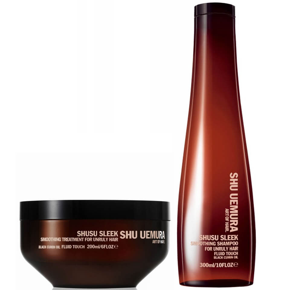 Шампунь (300 мл) и маска (200 мл) Shu Uemura Art of Hair Shusu Sleek Shampoo and Masque