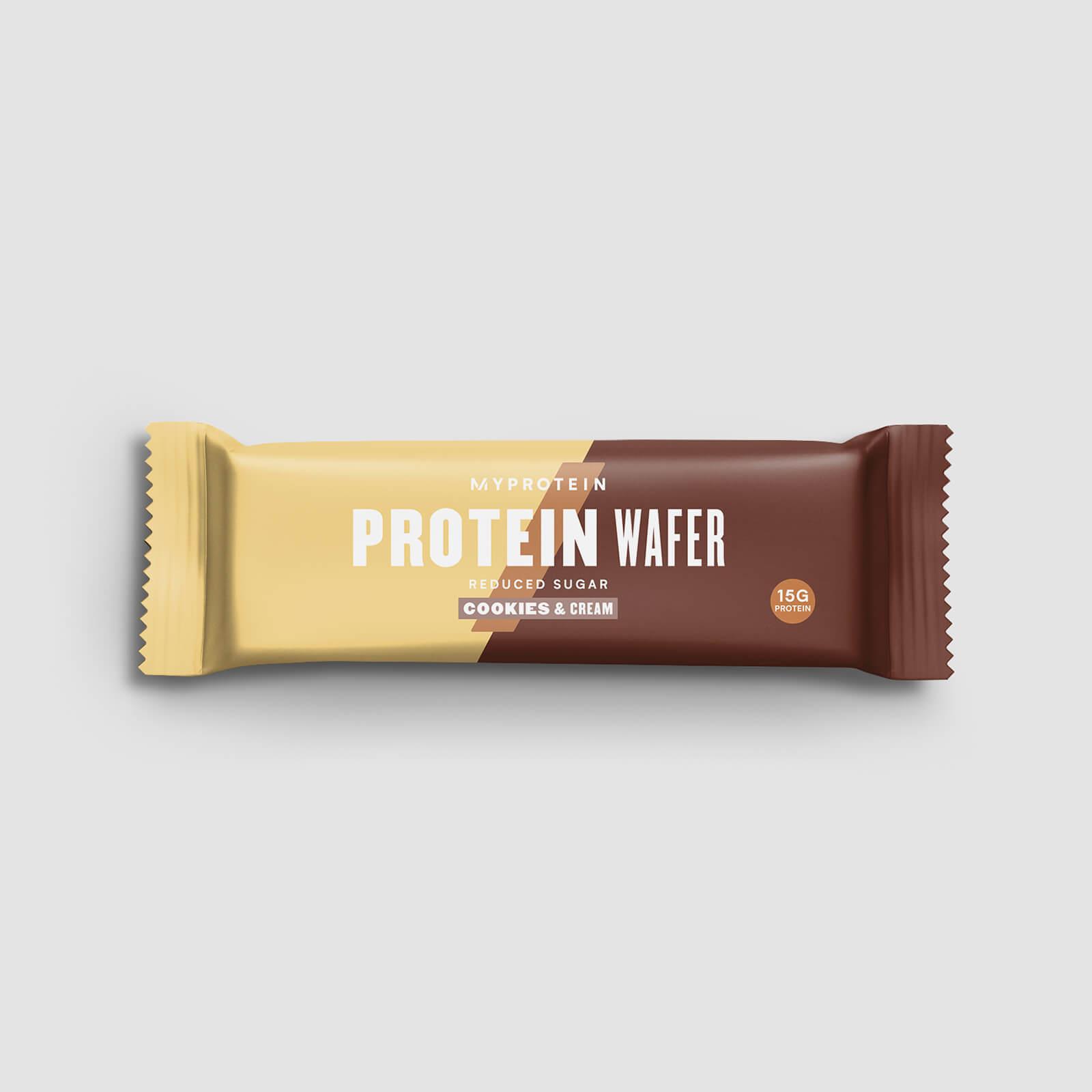 Gaufrette protéinée (échantillon) - Cookies et Crême