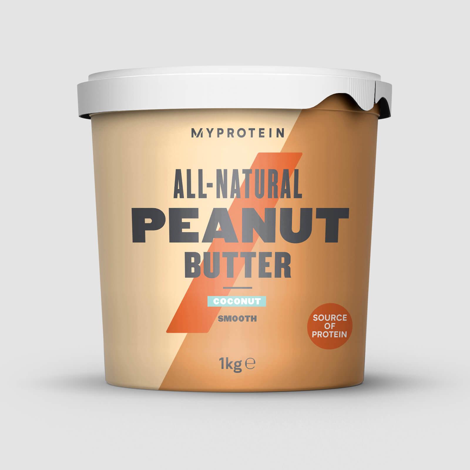 Купить Натуральная арахисовая паста - 1kg - Кокосовая паста, Myprotein International