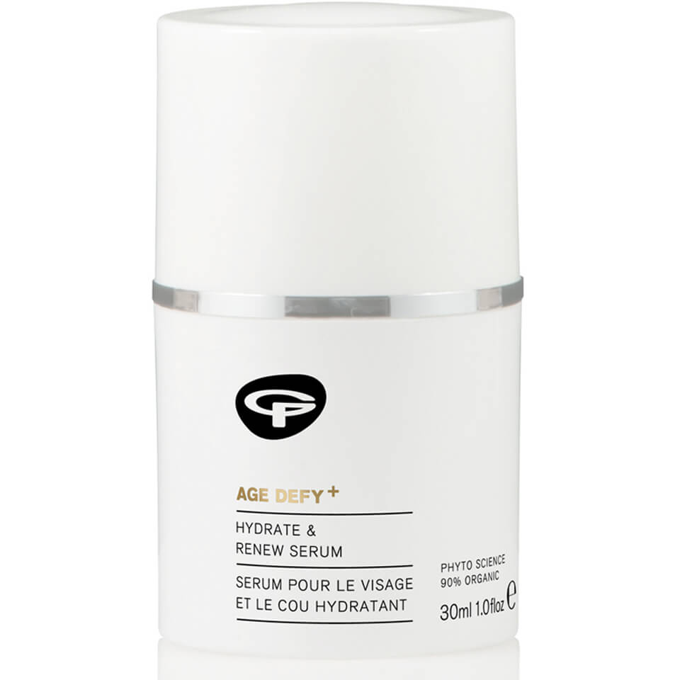 Green People Age Defy+ Hydrate & Renew Face and Neck Serum (30ml)