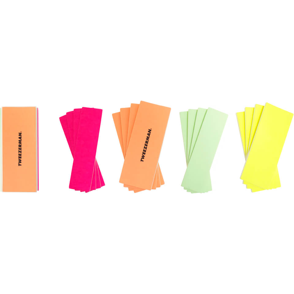 Купить Tweezerman Neon Hot File, Buff, Smooth & Shine Block