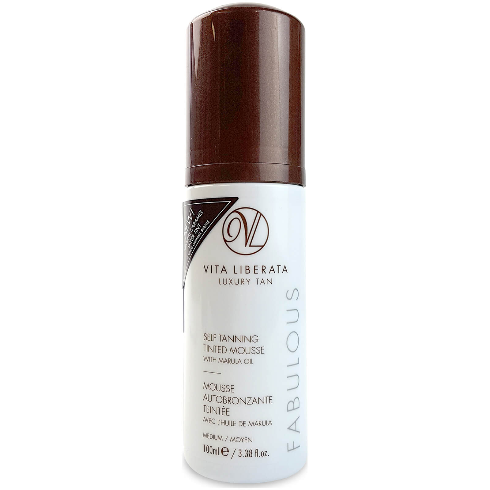Купить Мусс-автозагарVita Liberata Fabulous Self Tanning Tinted Mousse, средний, 100 мл