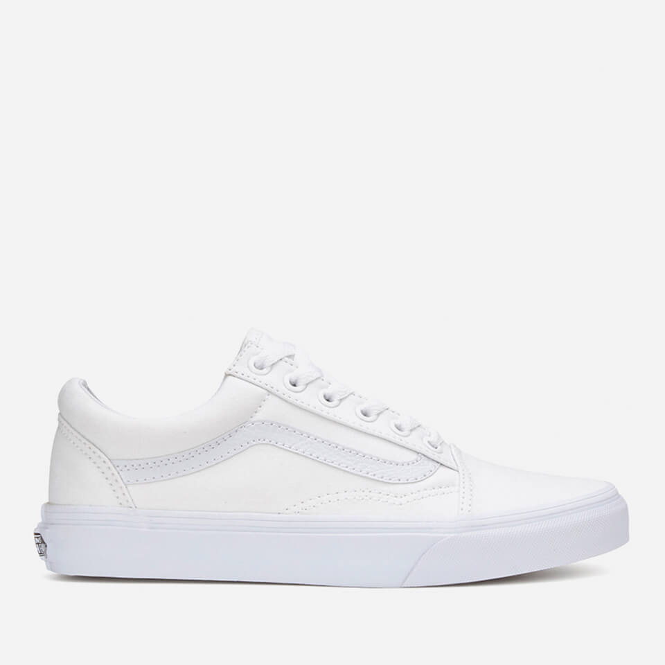 Vans Old Skool Trainers True White Uk 3