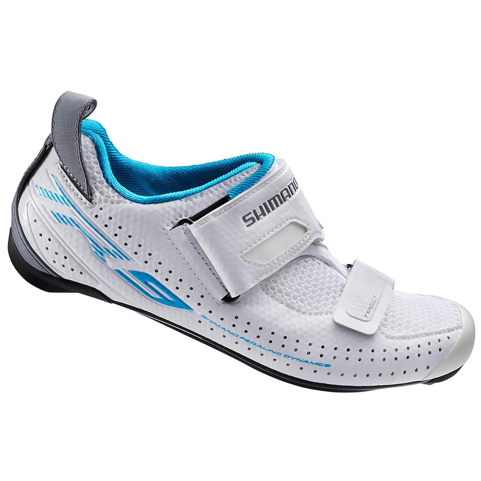 Shimano TR9W SPD-SL Cycling Shoes – White – EUR 36 – White