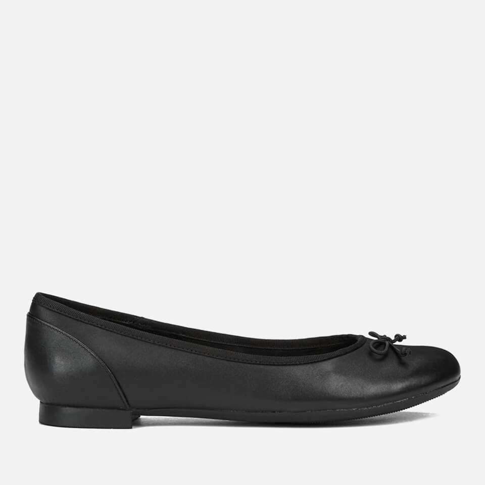 Clarks Women's Couture Leather Ballet Flats - Black - UK 7
