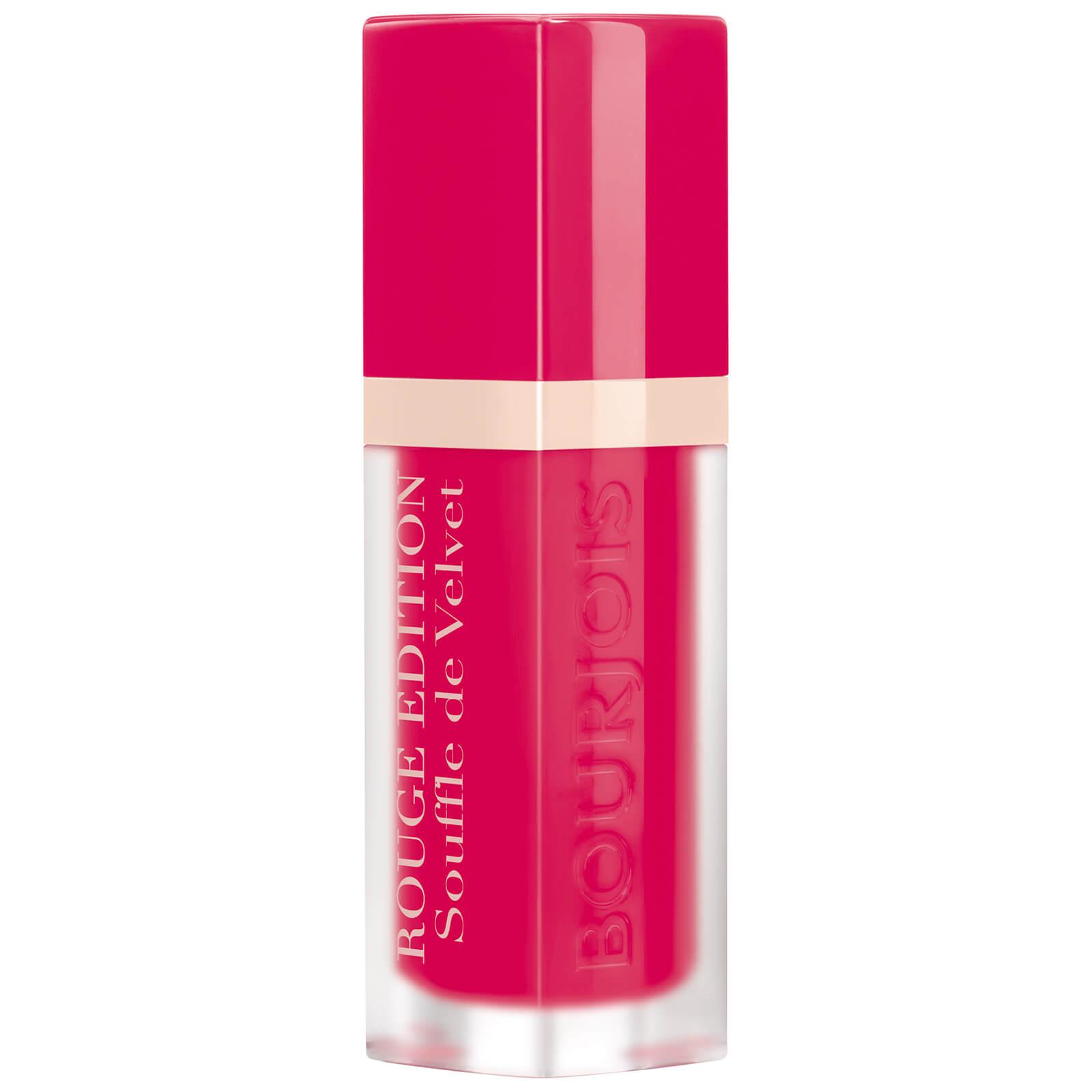 Bourjois Rouge Edition Souffle de Velvet Lipstick (Various Shades) - Fucshiamallow