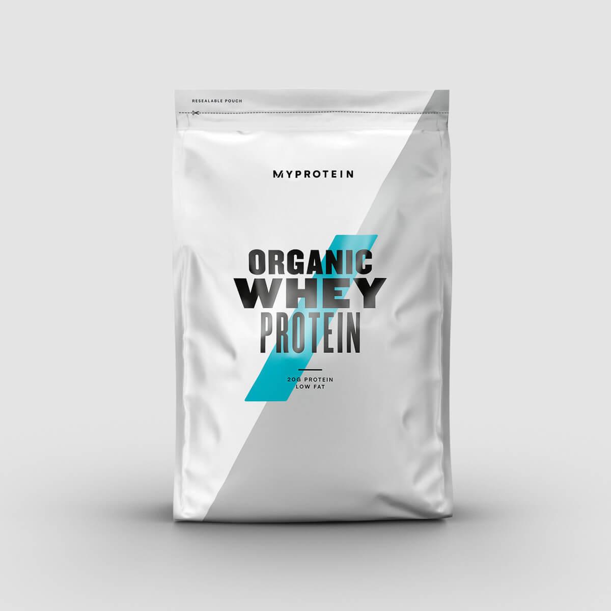 Protéine de Whey Bio - 1kg - Fraise
