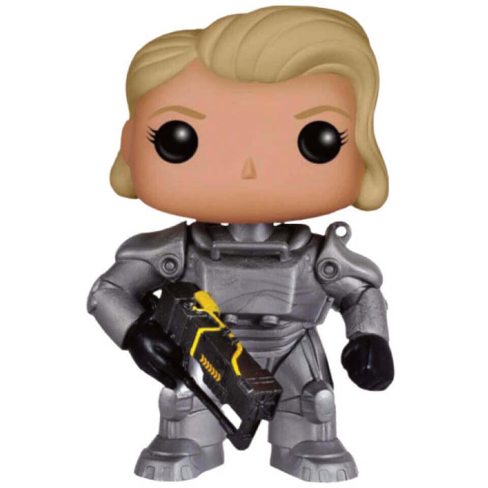 Fallout 4 Unmasked Female Power Armor Pop! Vinyl Figure