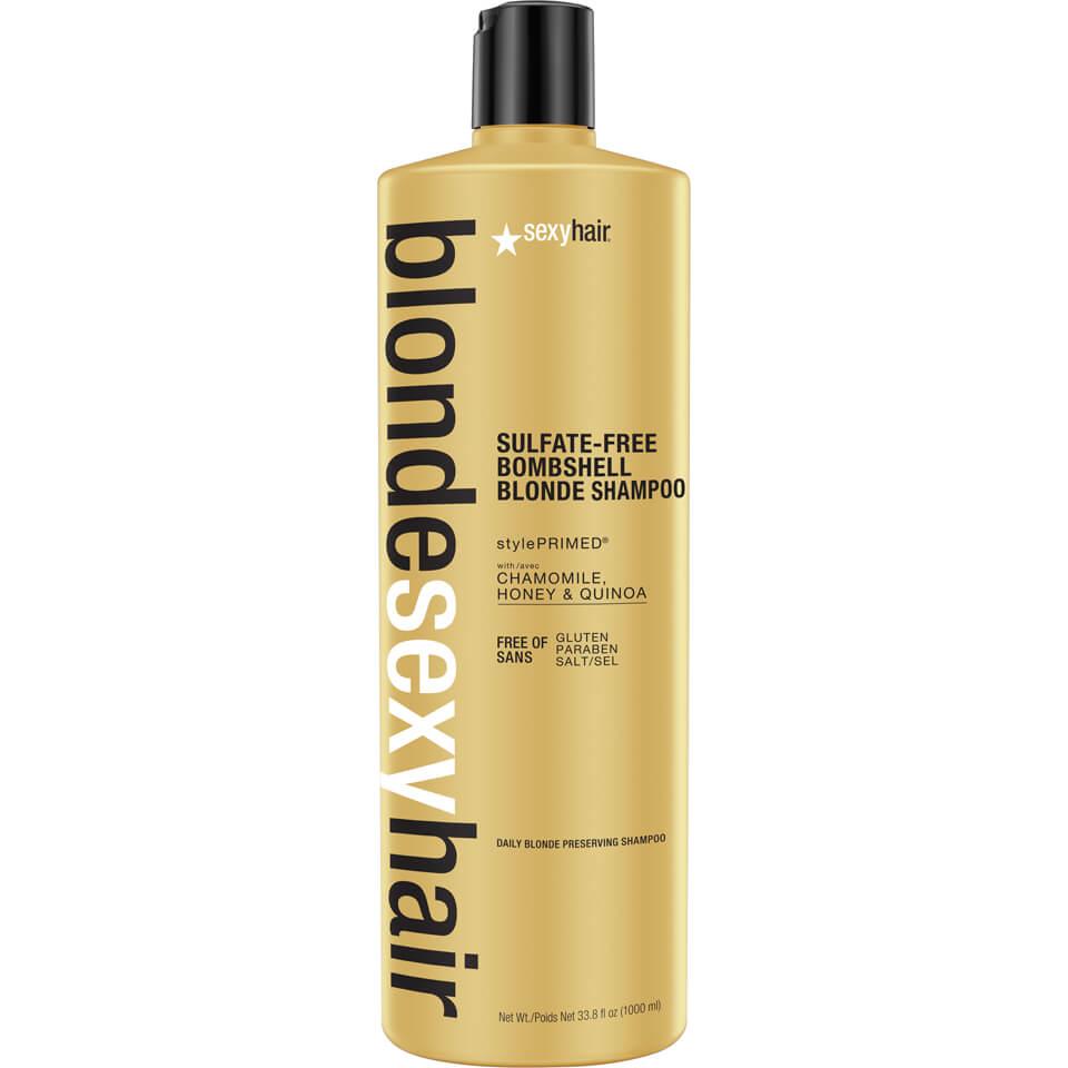 Sexy Hair Blonde Bombshell Blonde Shampoo 1000ml