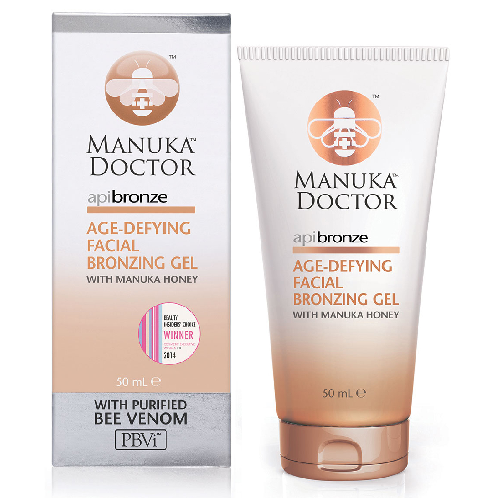 Manuka Doctor ApiBronze gel autoabbronzante viso anti-età 50 ml
