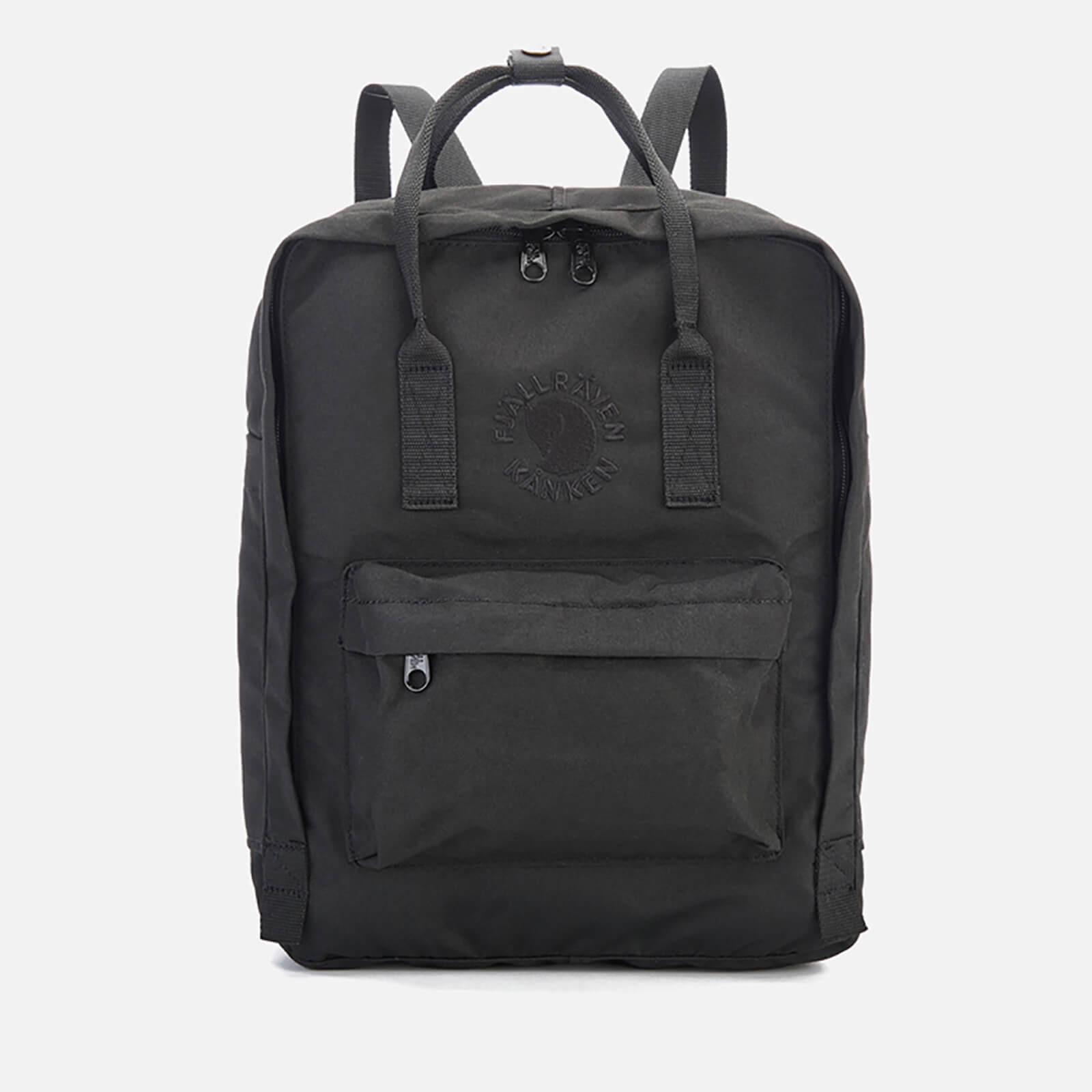 Click to view product details and reviews for Fjallraven Re Kanken Backpack Black.