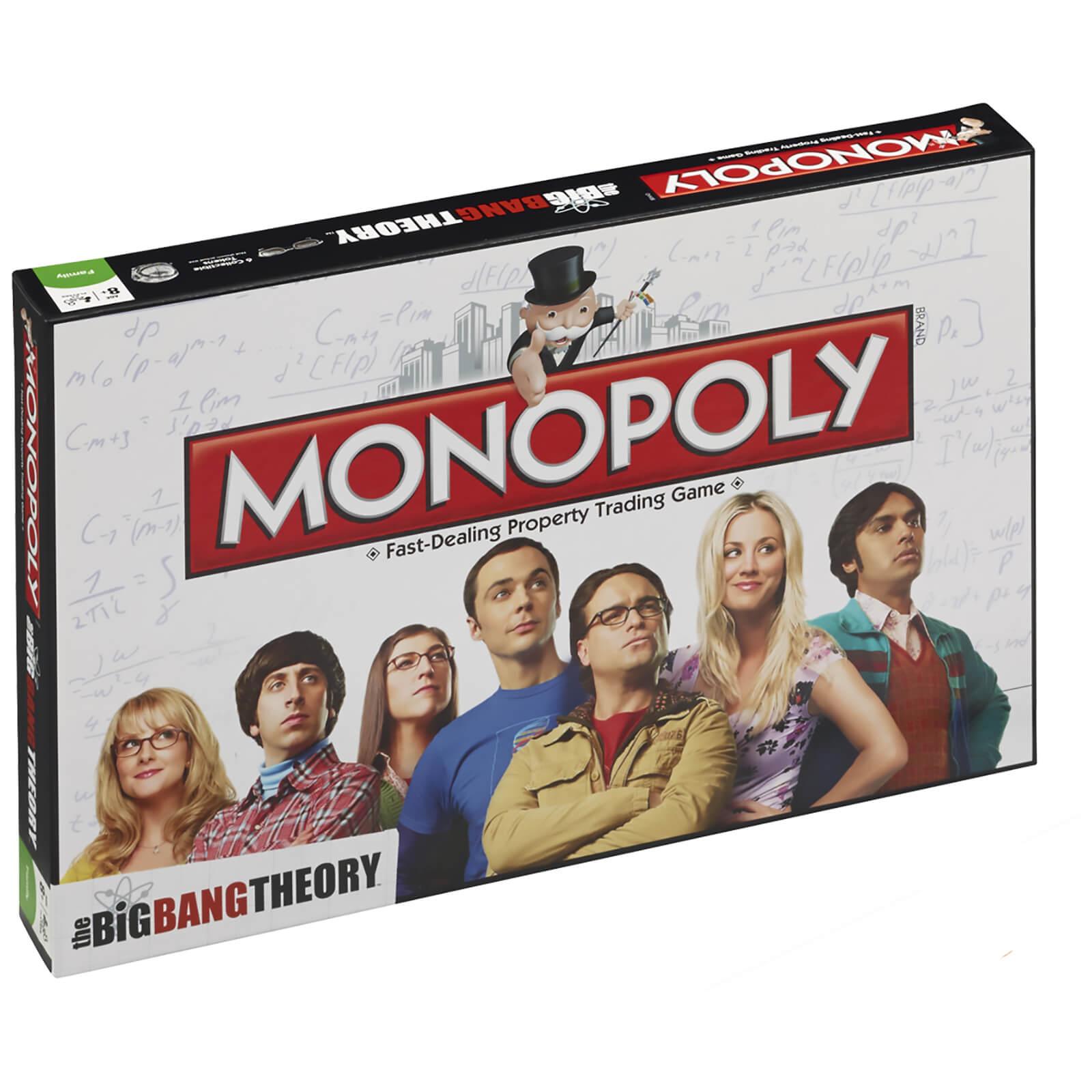 Image of Monopoly Board Game - The Big Bang Theory Edition