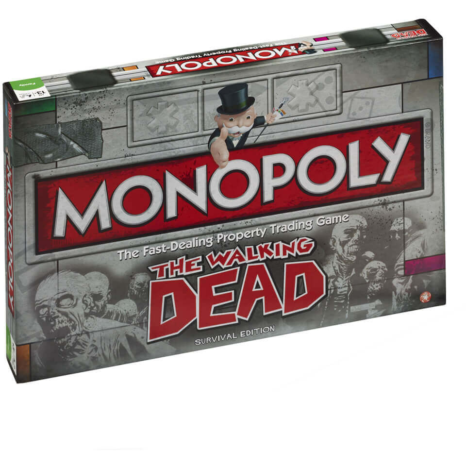 Image of Monopoly Board Game - Walking Dead Edition