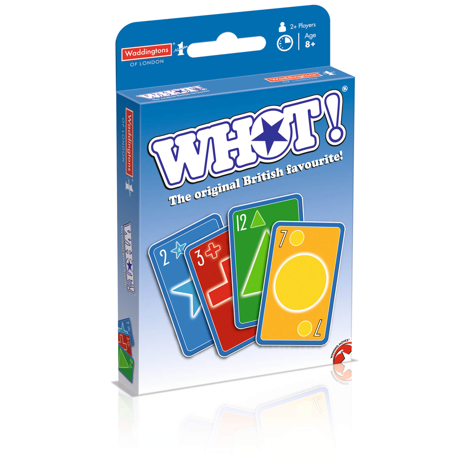 Image of WHOT! Travel Tuckbox Card Game - Original Edition