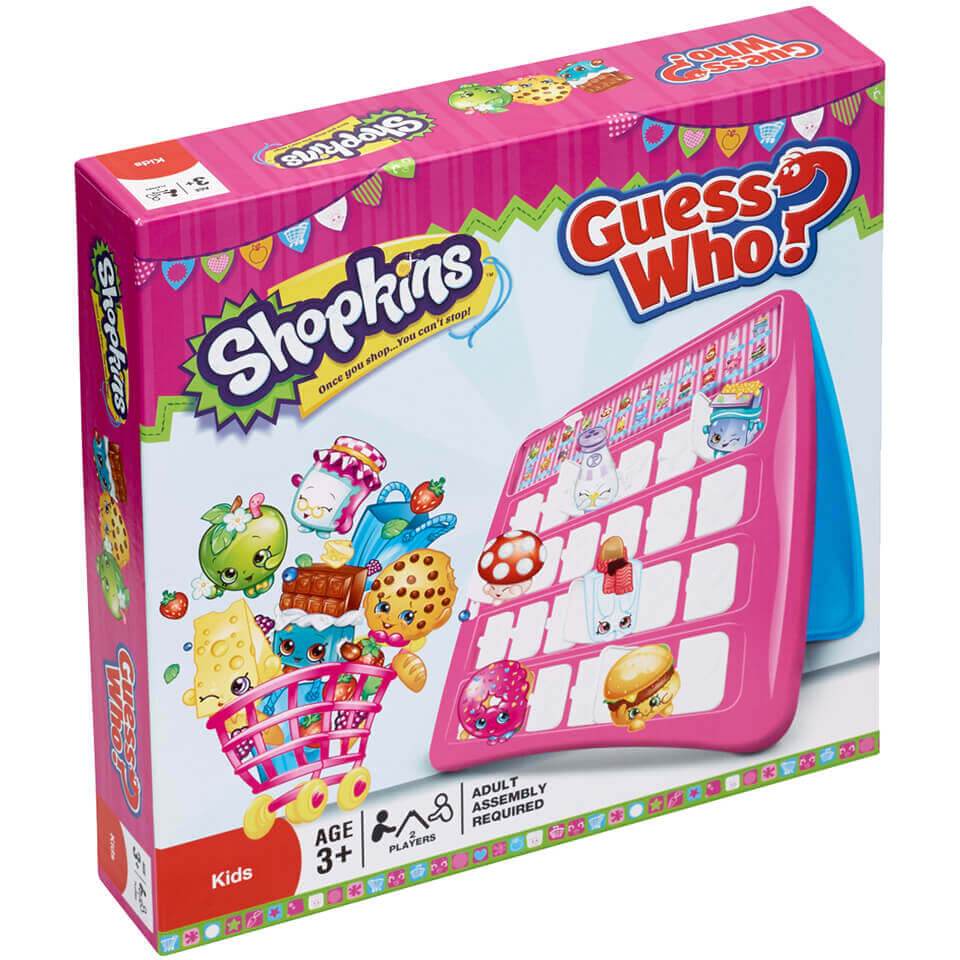 Image of Guess Who? Board Game - Shopkins Edition
