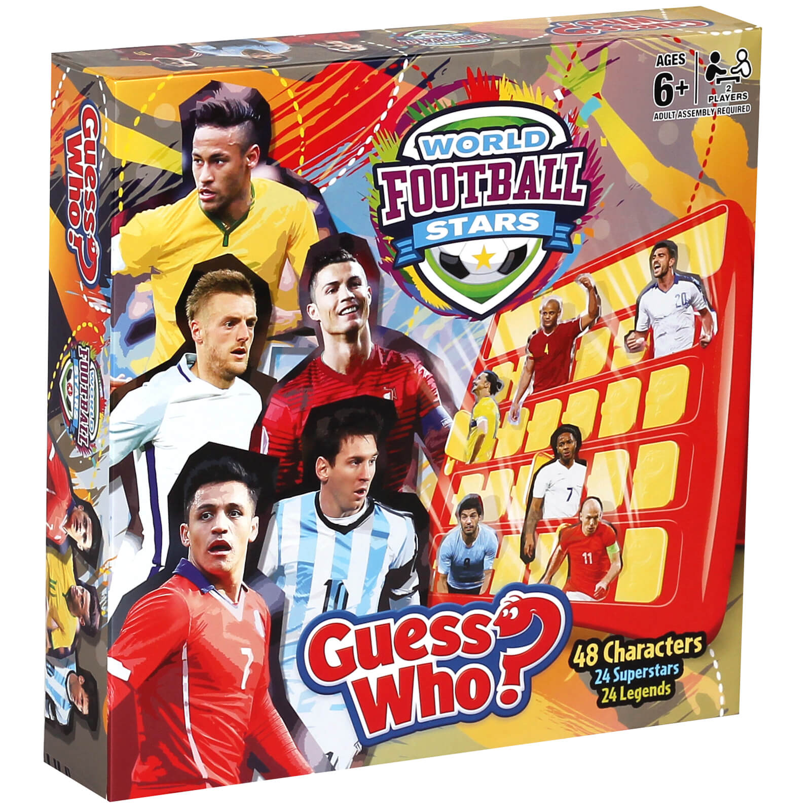 Image of Guess Who? Board Game - World Football Stars Edition