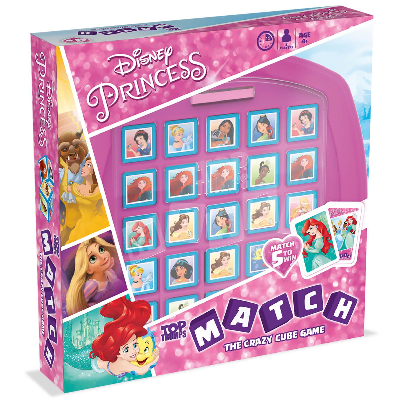 Image of Top Trumps Match Board Game - Disney Princess Edition