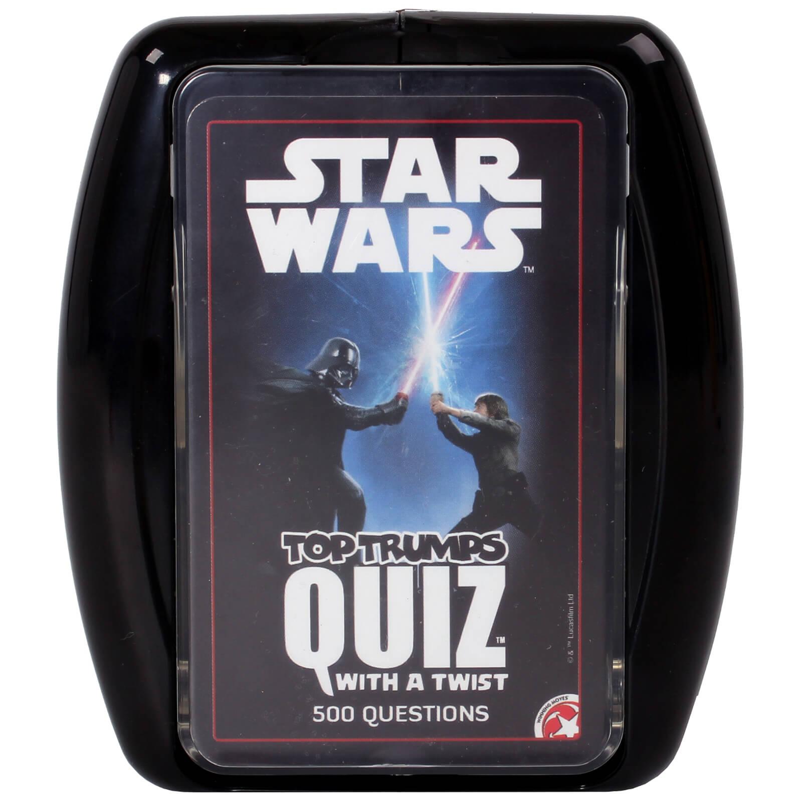 Image of Top Trumps Quiz Game - Star Wars Edition