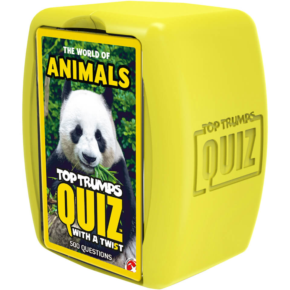 Image of Top Trumps Quiz Game - Animals Edition