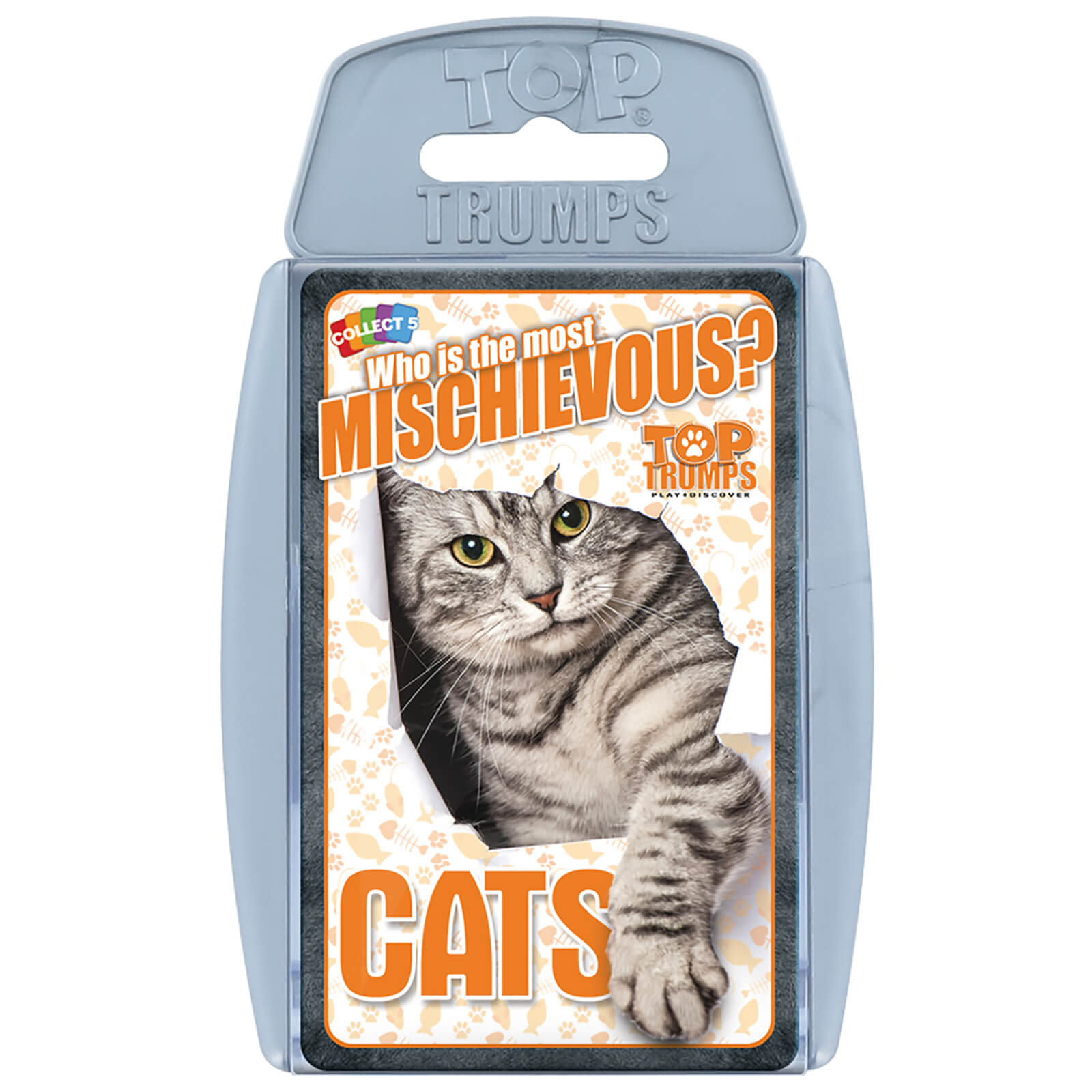 Image of Top Trumps Card Game - Cats Edition