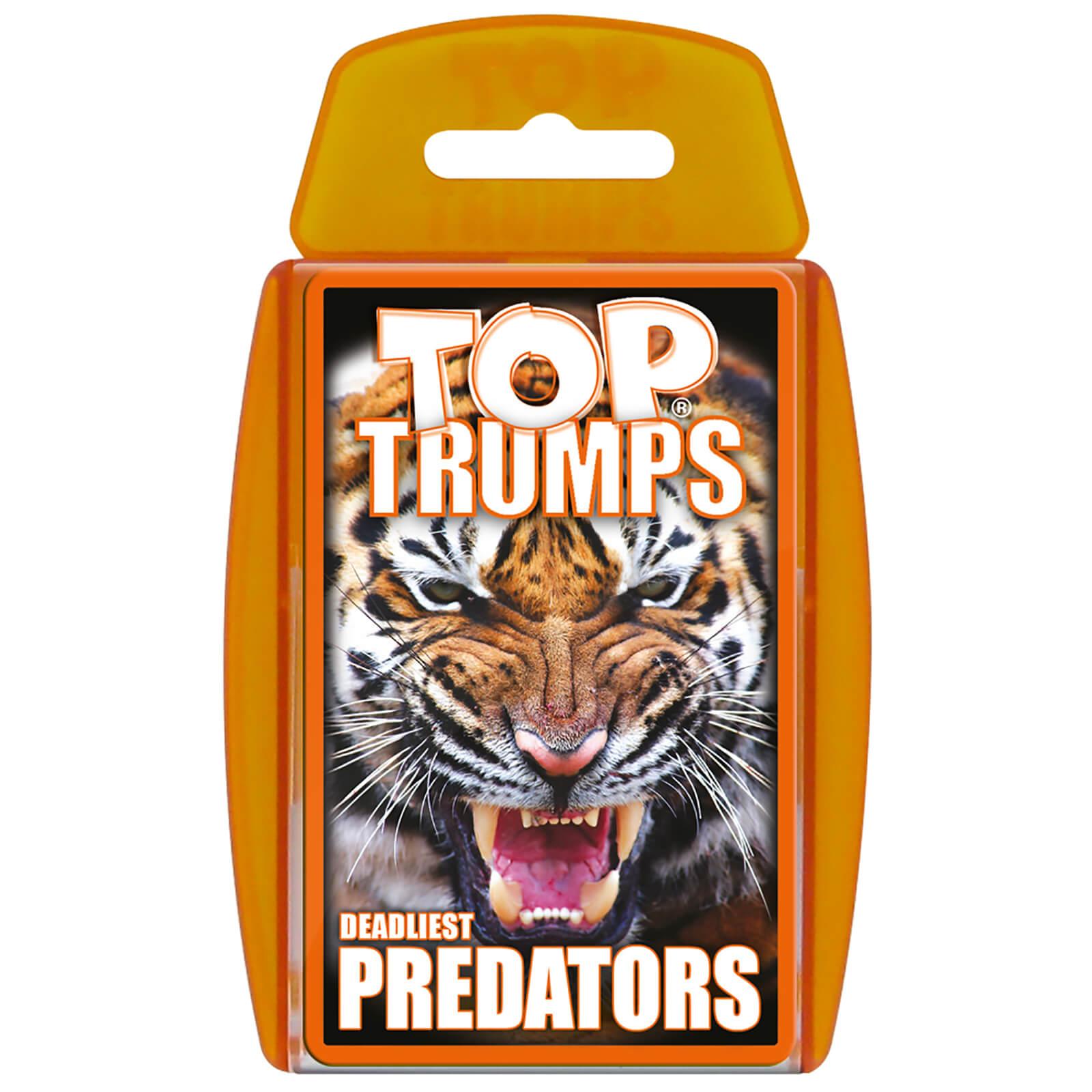 Image of Top Trumps Card Game - Predators Edition