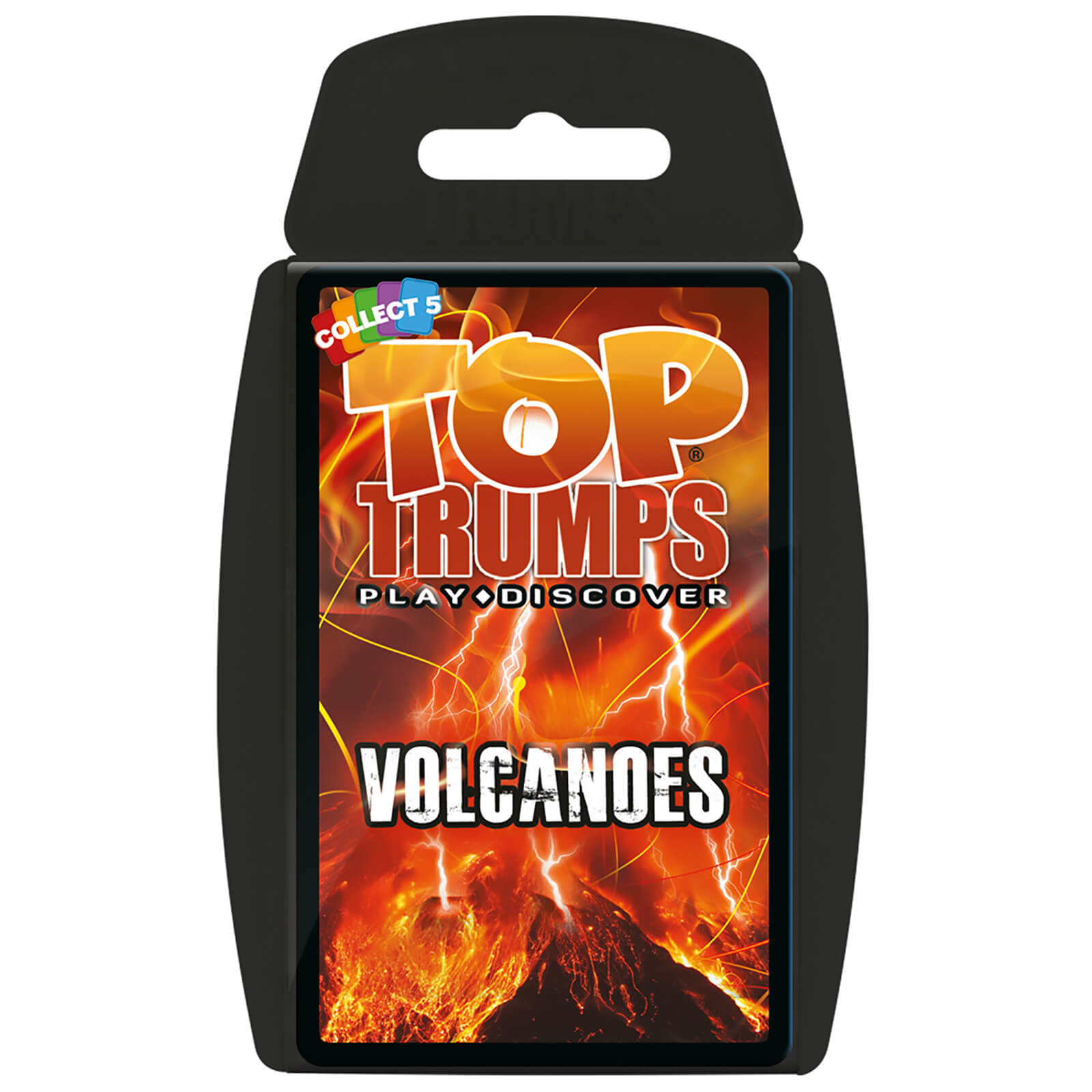Image of Top Trumps Card Game - Volcanoes Edition