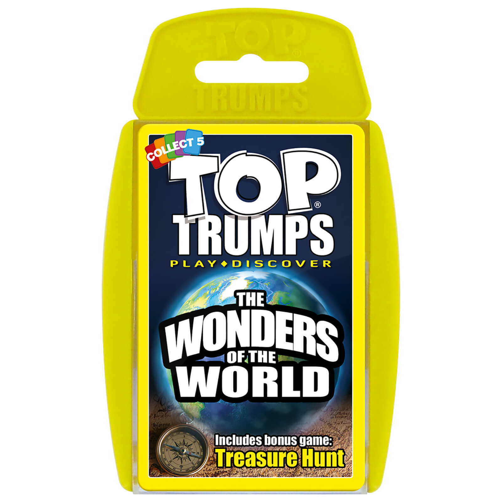 Image of Top Trumps Card Game - Wonders of the World Edition