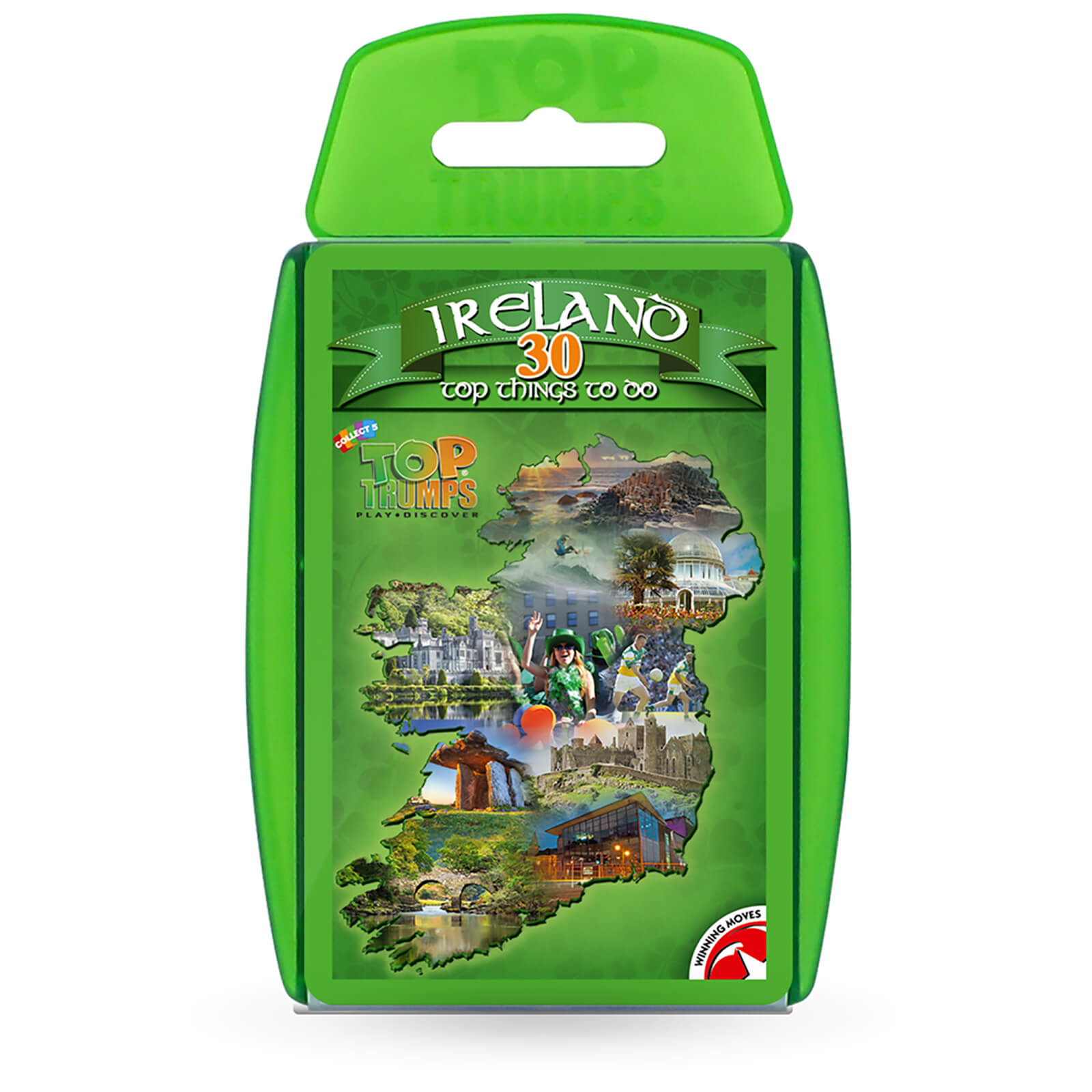 Image of Top Trumps Card Game - Ireland 30 Things to Do Edition