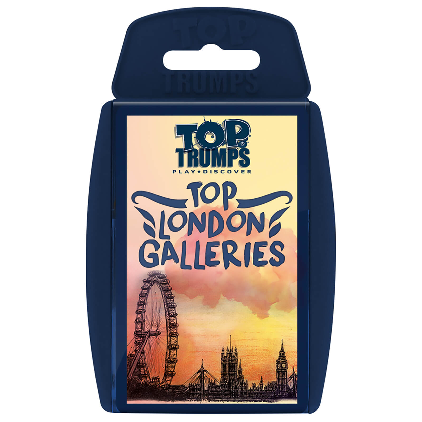 Image of Top Trumps Card Game - Top London Galleries Edition