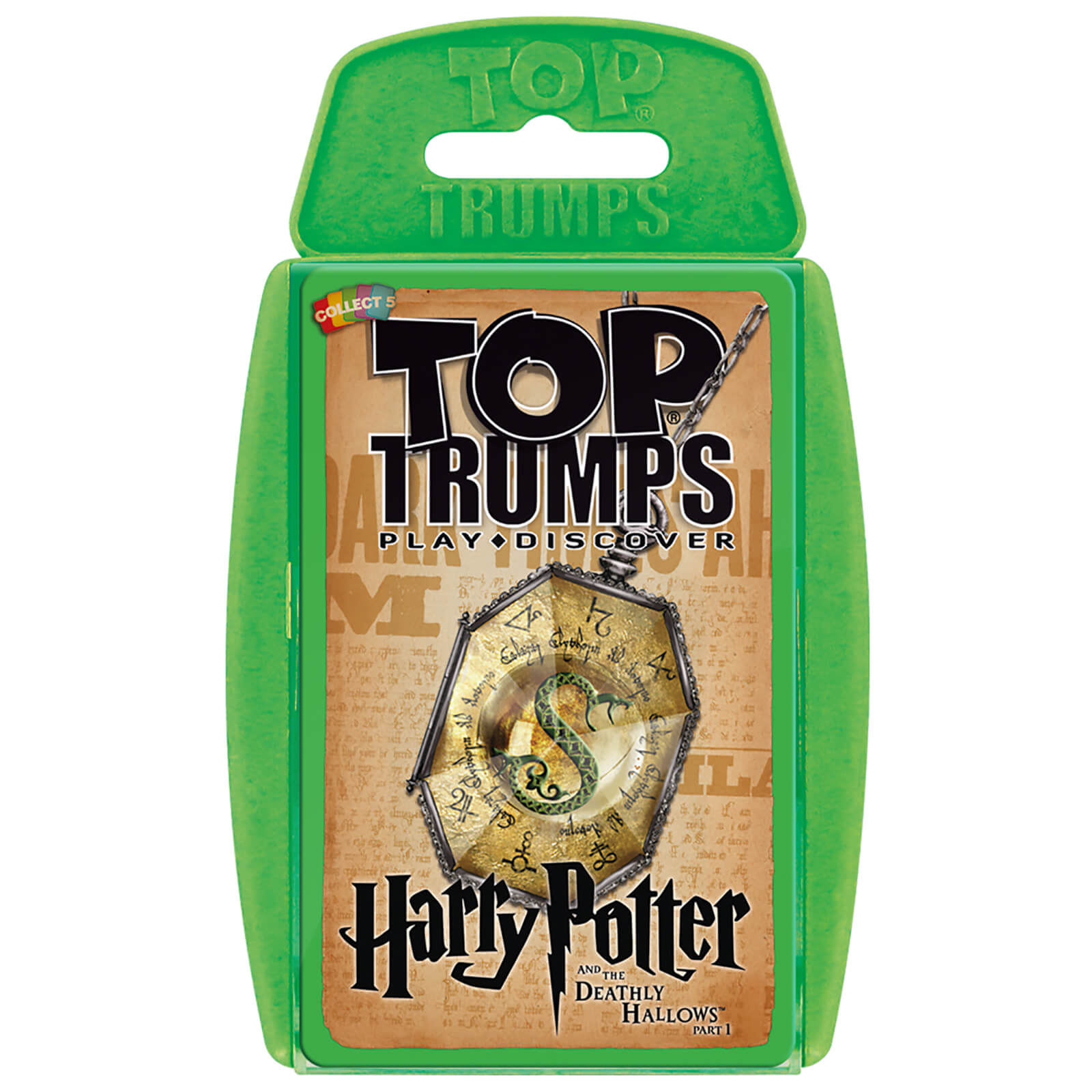 Image of Top Trumps Card Game - Harry Potter and the Deathly Hallows 1 Edition