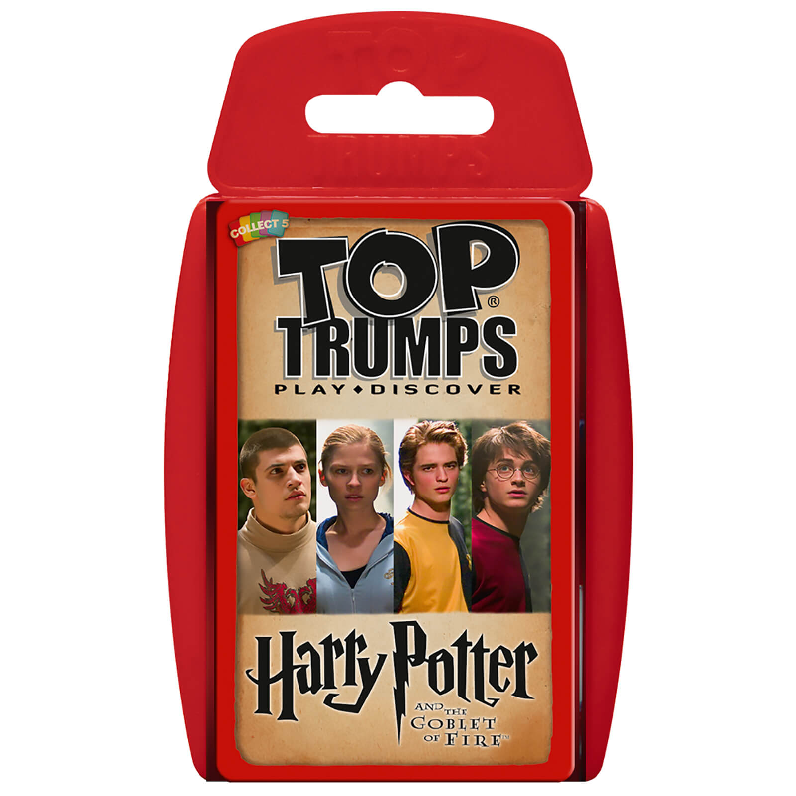 Image of Top Trumps Card Game - Harry Potter and the Goblet of Fire Edition