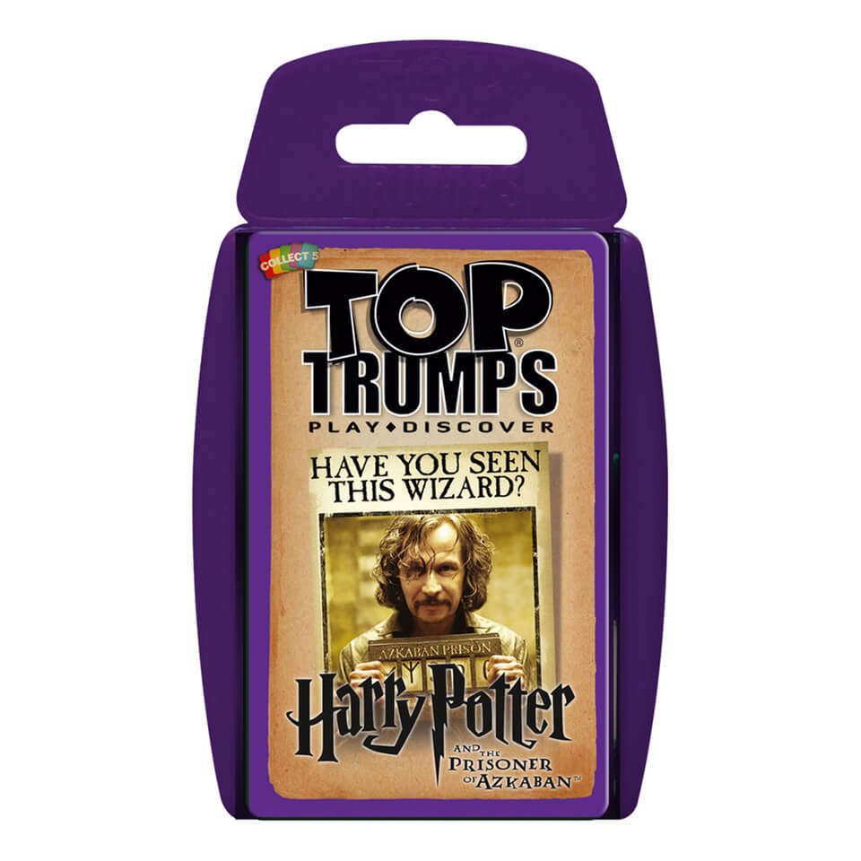 Image of Top Trumps Card Game - Harry Potter and the Prisoner of Azkaban Edition