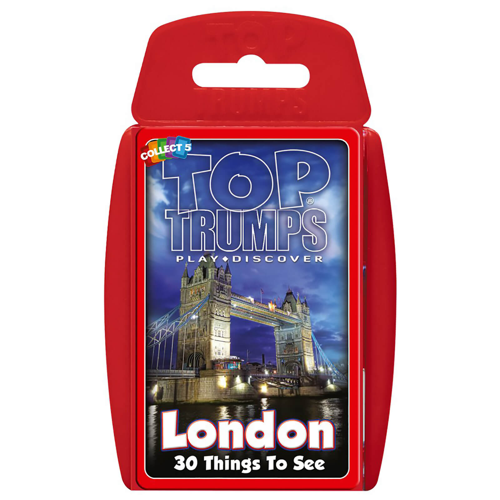 Image of Top Trumps Card Game - London 30 Things to See Edition
