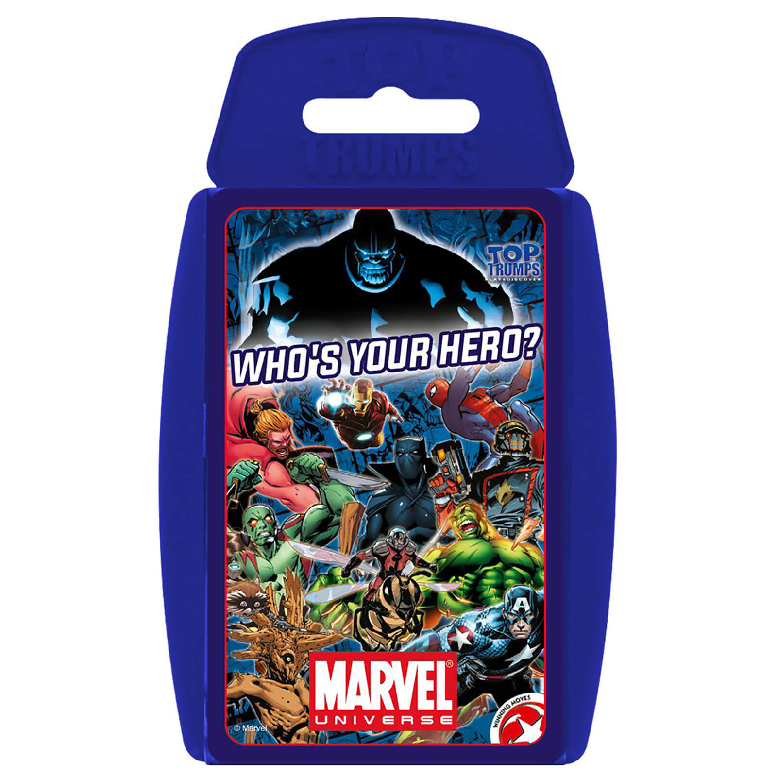 Image of Top Trumps Card Game - Marvel Universe Edition