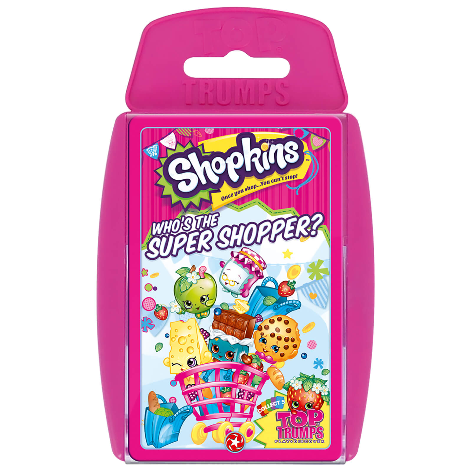 Image of Top Trumps Card Game - Shopkins Edition