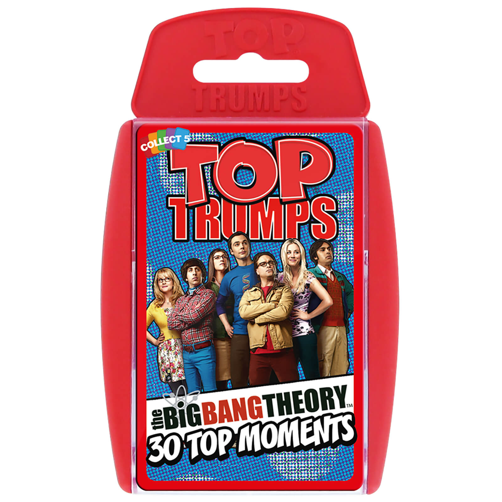 Image of Top Trumps Card Game - The Big Bang Theory Edition
